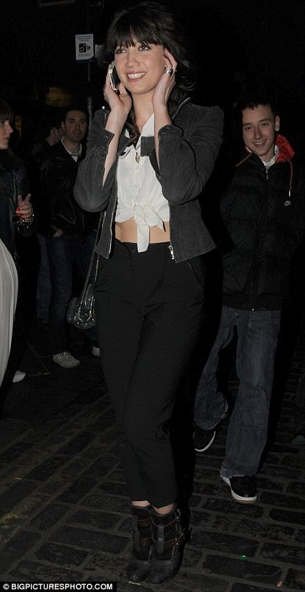 Daisy Lowe goes to Clubbing in The Box