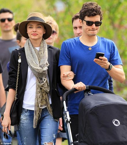 Life is a Stroll in the Park for Miranda Kerr