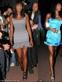 Naomi Campbell loves to change clothes