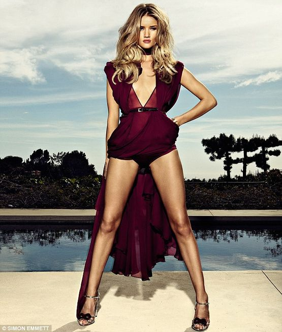 Rosie Huntington-Whiteley talks about her school time in GQ magazine