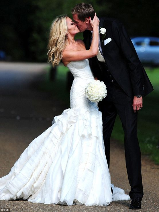 Abbey Clancy and Peter Crouch had the heart to do it