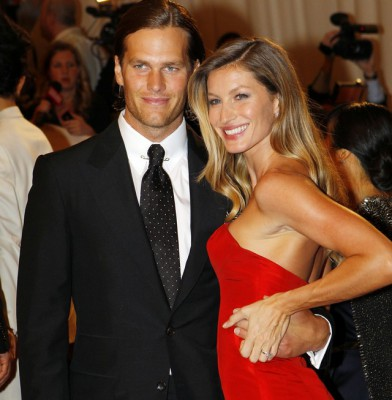 Bundchen and Brady top the wealthiest celebrity couples list