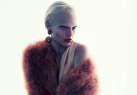 Sasha Pivovarova for Giorgio Armani \'Boudoir\' TV campaign