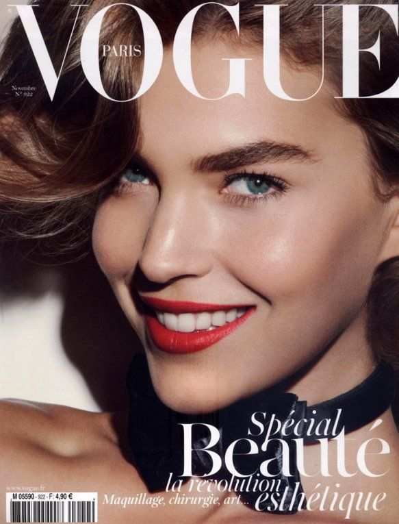 Arizona Muse on the cover of VOGUE Paris November 2011