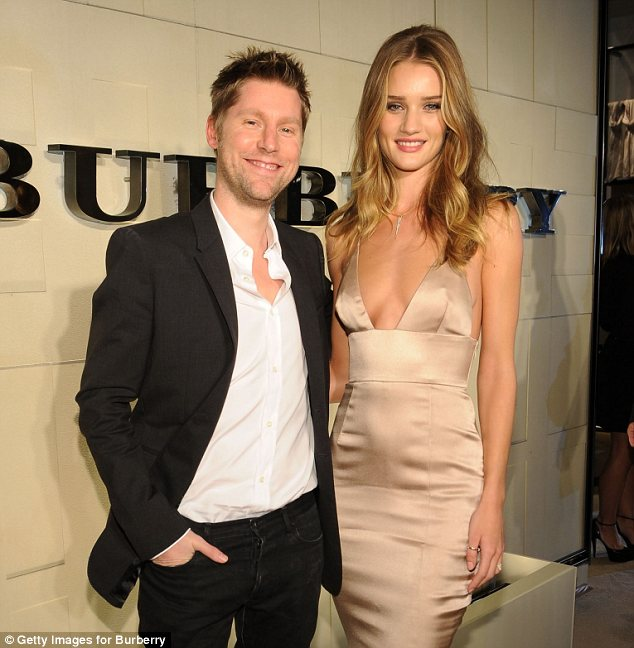 Rosie Huntington-Whiteley celebrates as new face of Burberry Body
