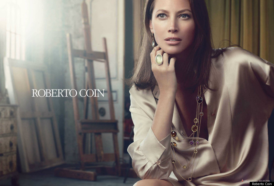 Christy Turlington for Roberto Coin\'s new ad campaign