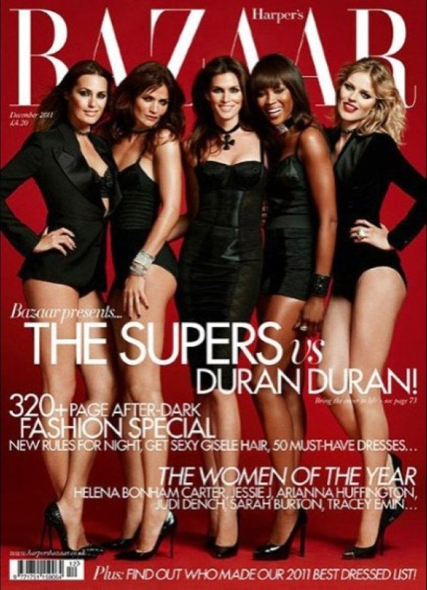 Duran Duran and Harper\'s Bazaar reunite the Supermodels