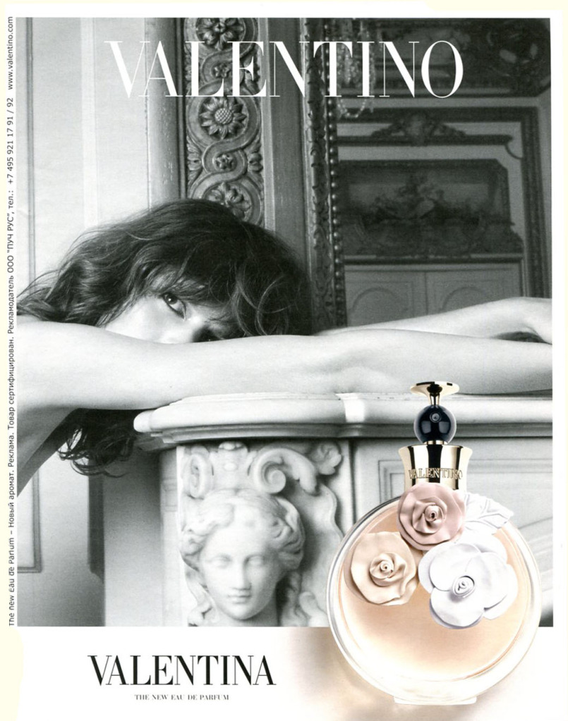 Freja Beha Erichsen is face of Valentino\'s newest fragrance