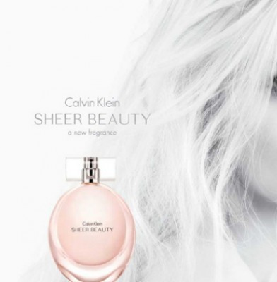 Daphne Groeneveld is face of Calvin Klein\'s Sheer Beauty