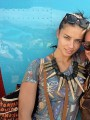 Adriana Lima travels to Haiti with Donna Karan