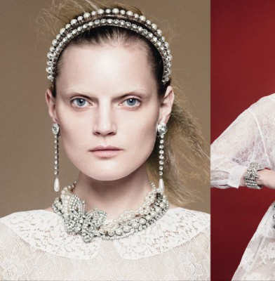 Guinevere Van Seenus is the new face of Miu Miu