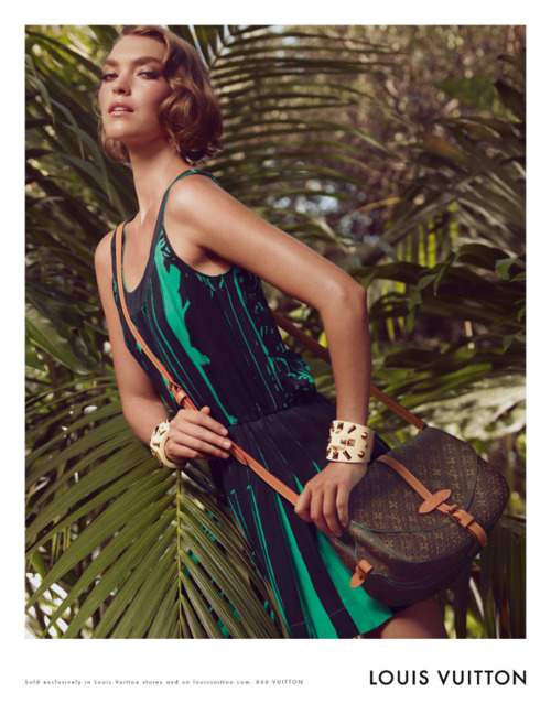 Arizona Muse for Louis Vuitton Cruise 2012