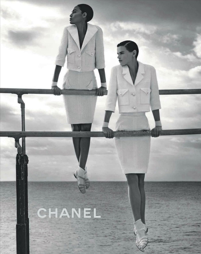 Saskia de Brauw and Joan Smalls are fit for Chanel!