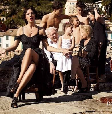 Bianca Balti joins the Dolce&Gabbana family