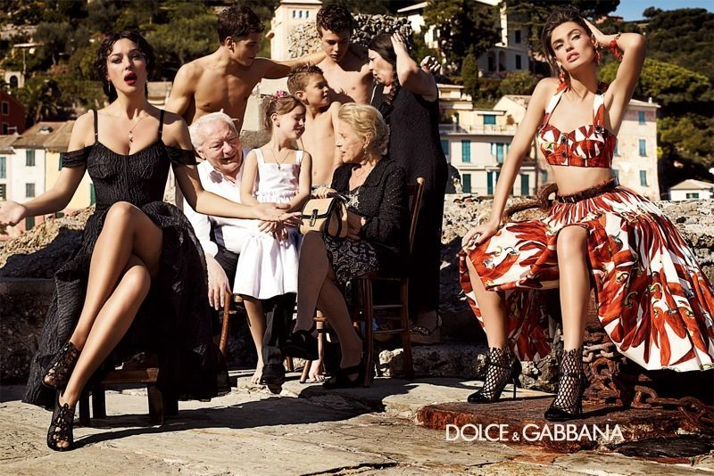 Bianca Balti joins the Dolce&Gabbana family