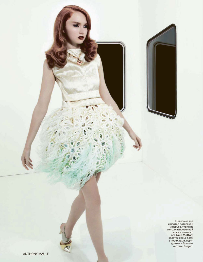 Lily Cole for Vogue Russia