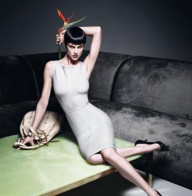 Saskia de Brauw for Max Mara Spring 2012 campaign