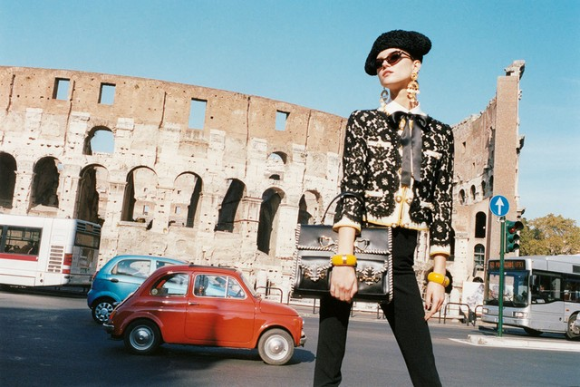 Moschino Spring 2012 campaign gets Kasia Struss to Rome