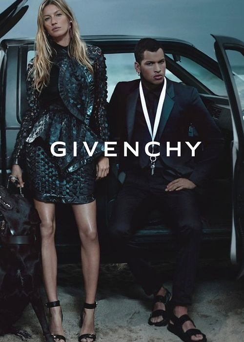 Gisele B�ndchen for Givenchy Spring 2012 campaign