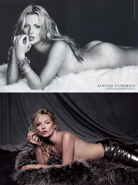 Kate Moss involved in copyright controversy