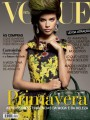 Sara Sampaio covers February edition of Vogue Portugal