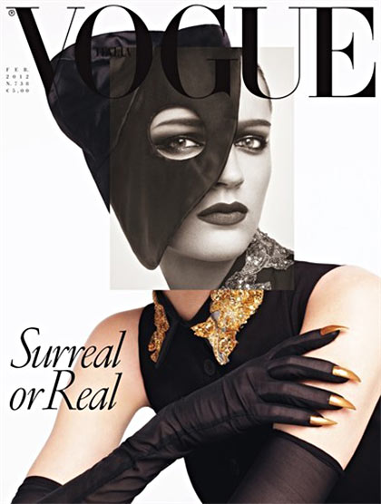 Laura Kampman covers Vogue Italia