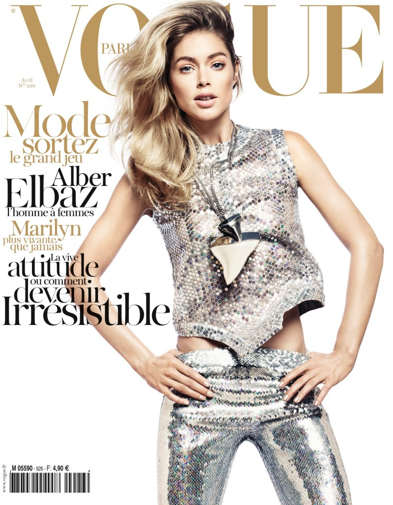 Doutzen Kroes covers Vogue Paris