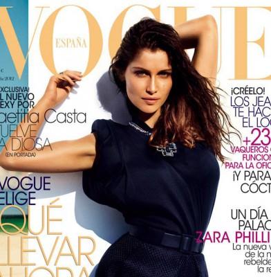 Laetitia Casta covers Vogue Spain