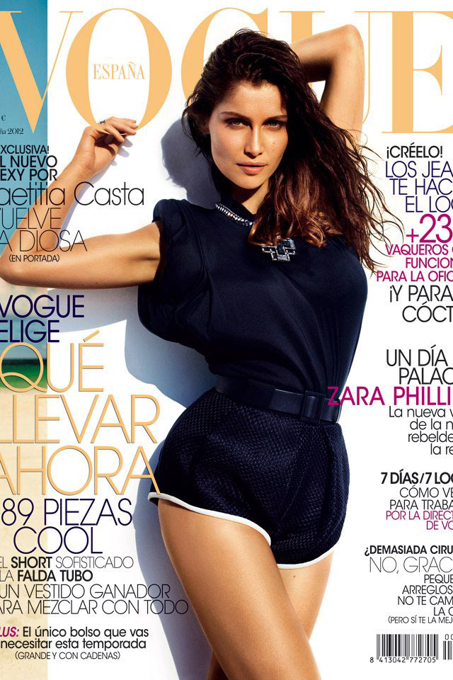 Laetitia Casta covers Vogue Spain