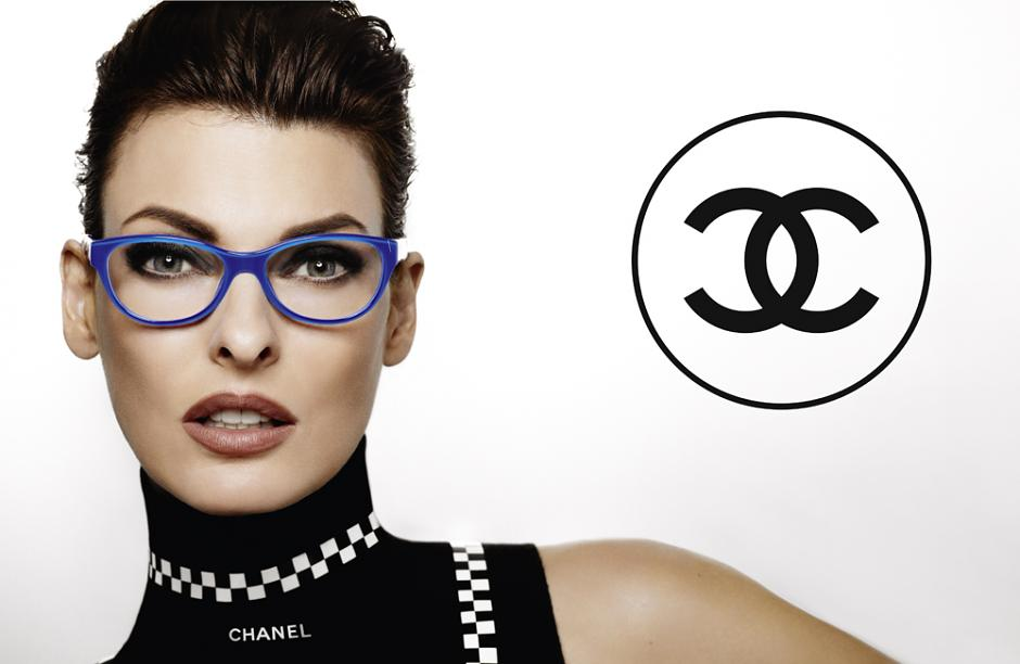 Linda Evangelista  is the new face of Chanel Spring 2012 Eyewear
