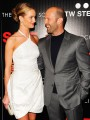 Rosie goes bridal to her boyfriend\'s premiere