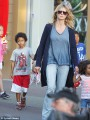 Heidi Klum enjoys a family weekend at Disneyland