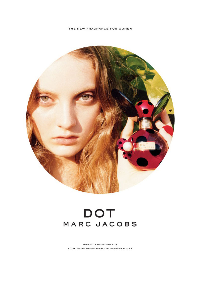 Codie Young is Marc Jacobs\' latest fragrance face