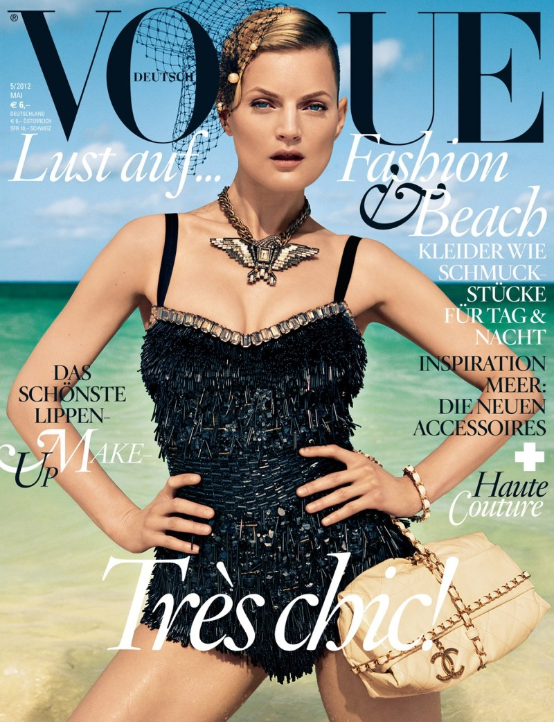 Guinevere van Seenus covers Vogue Germany