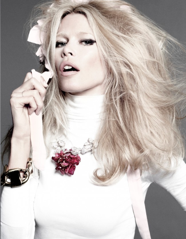 Model of the day: Claudia Schiffer