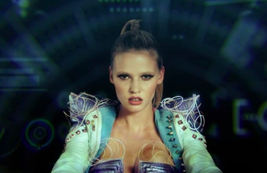 Watch Lara Stone, the Space Cadet!