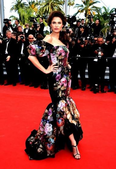 Bianca Balti conquers Cannes in Dolce & Gabbana