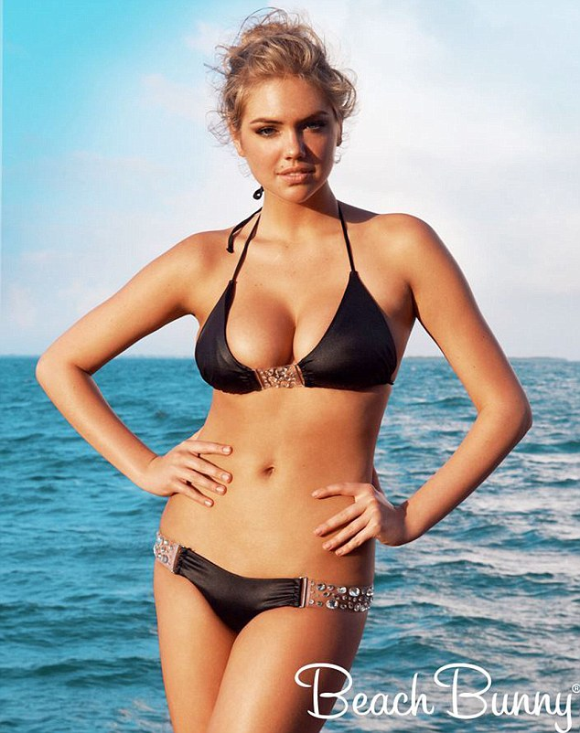 Belize Sizzles As Kate Upton Takes to the Beach to Shoot Her Beach Bunny Collection