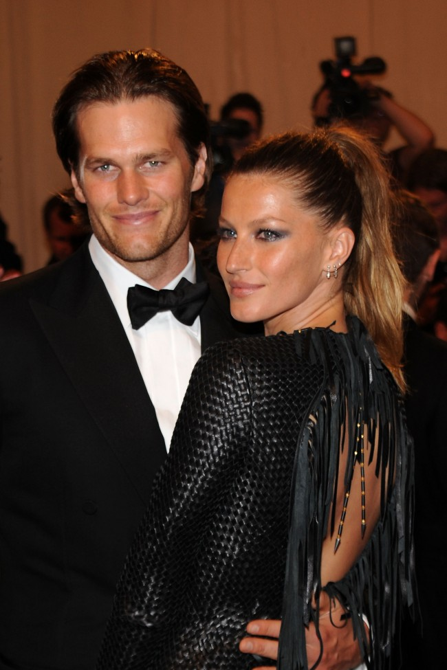 Rumor has it that Gisele B�ndchen and Tom Brady are expecting