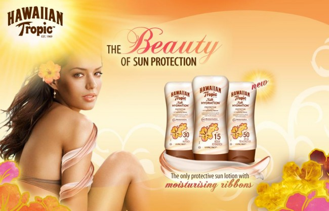Beauty product review: Hawaiian Tropic Silk Hydration ™ lotion sunscreen