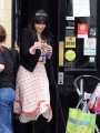 Daisy Lowe�s favourite accessory is her dog, Monty
