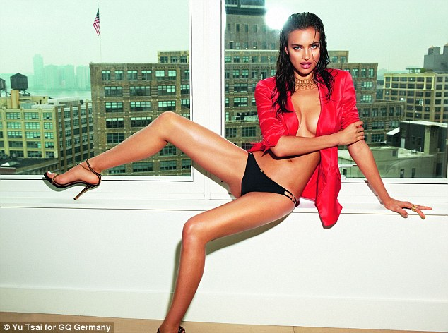 "Irina Shayk turns on the ""sizzle factor"" for German GQ"