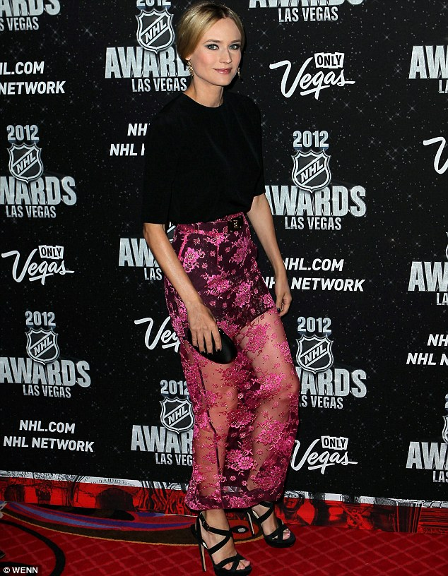 Diane Kruger makes a fashion statement at NHL Awards