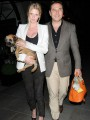 David Walliams and Lara Stone prove, �It�s a dog�s life.�