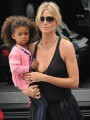 Model mama Heidi Klum shows too much skin?