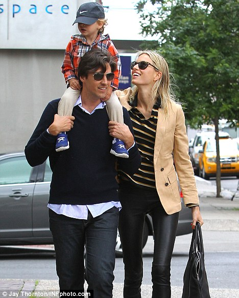Karolina Kurkova swaps runway for a day out with son Tobin