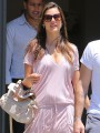Alessandra Ambrosio shows �nesting instinct� as she shops for new home