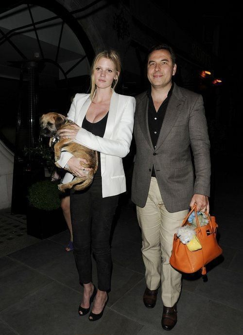 David Walliams surprises Lara Stone with the ultimate gift