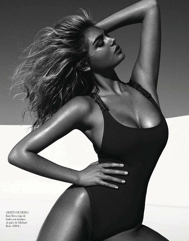 Kate Upton turns on the heat in Vogue Spain shoot!