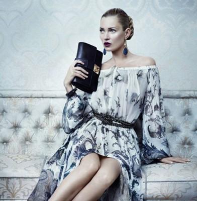 Kate Moss fronts new Salvatore Ferragamo ad campaign